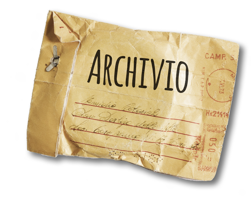 Progetti in archivio